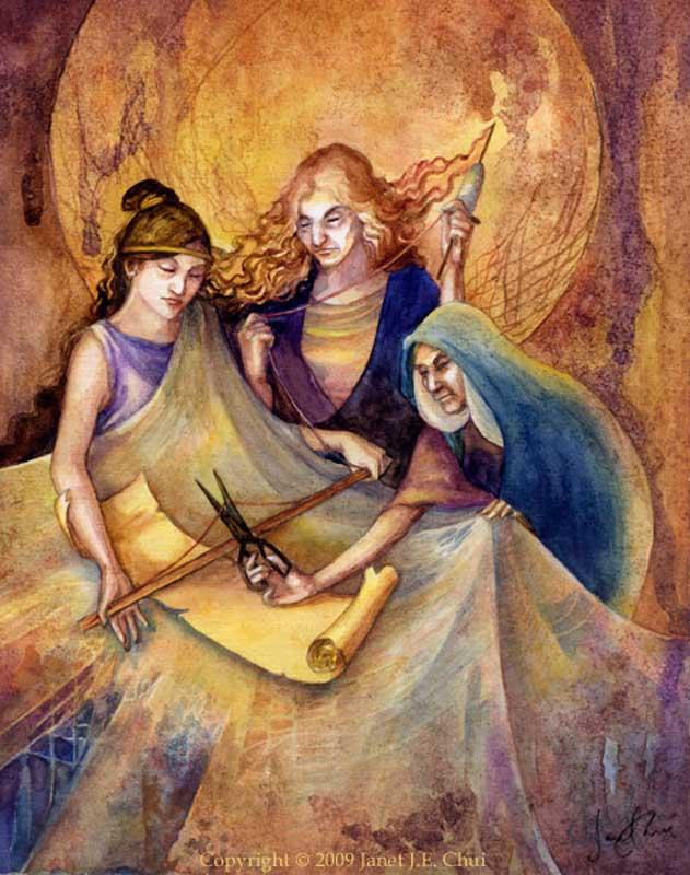 богини скандинавского пантеона норны