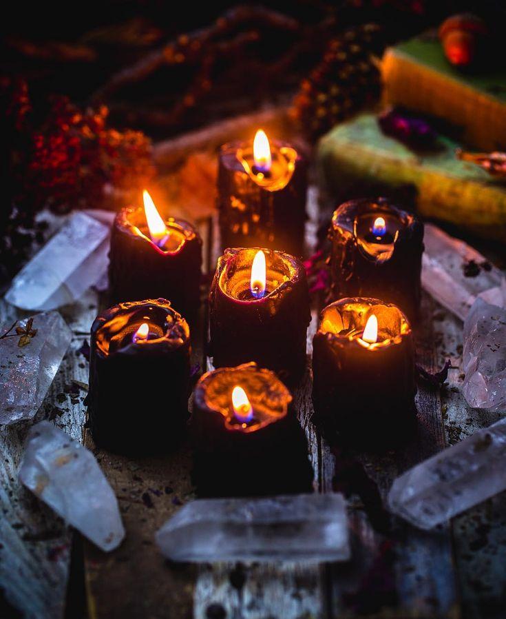 черные свечи от порчи