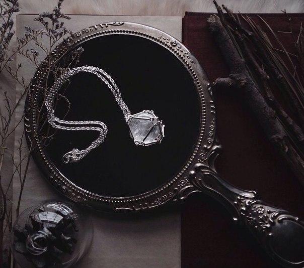 зеркало магия кристаллы