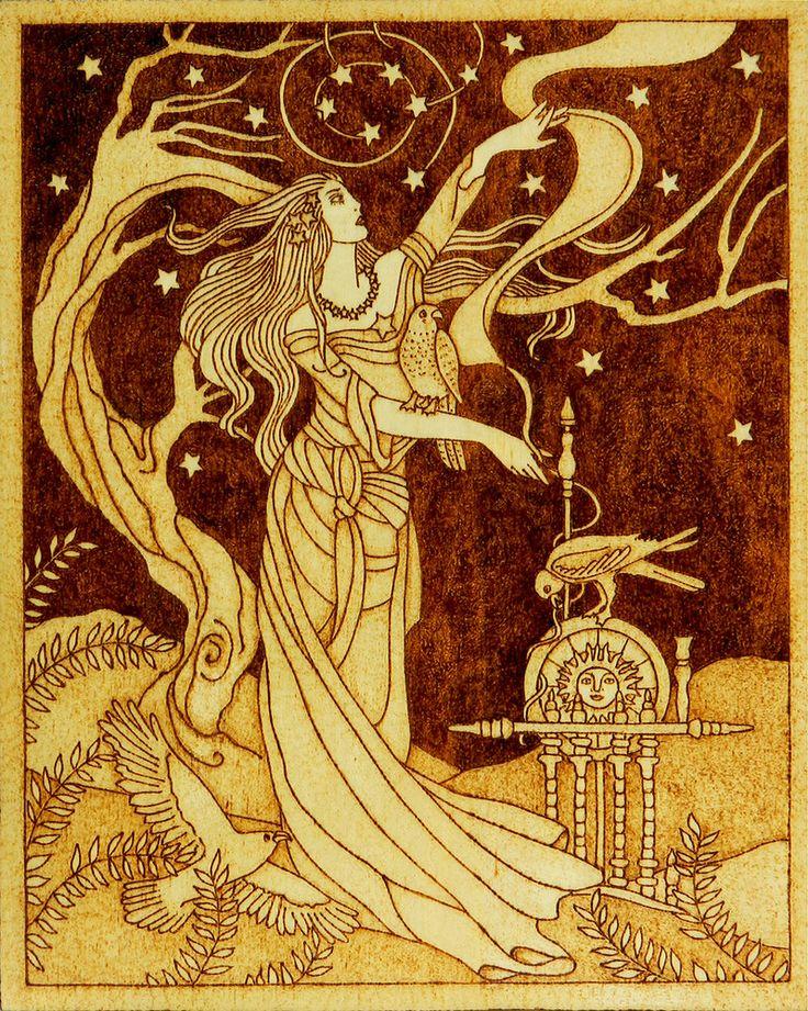 богиня фригг прялка
