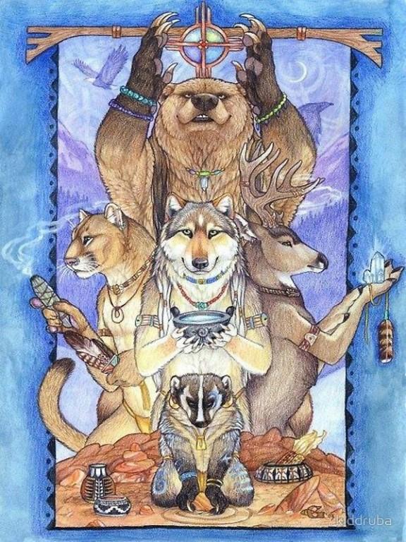 тотемы шаманизм