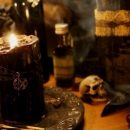 черная магия свечи