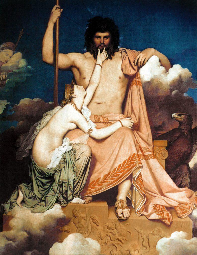 жены бога зевса