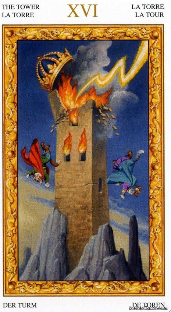 карты таро значение башня