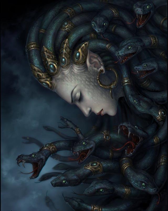 медуза горгона мифы
