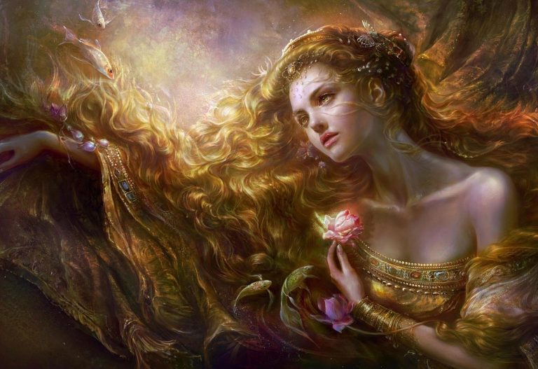 золотоволосая дева