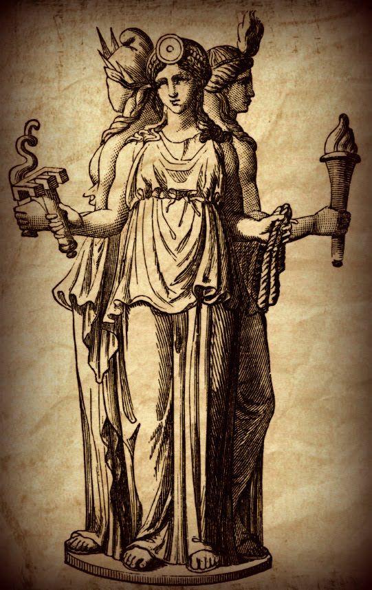 богиня ночи геката