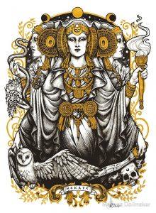 Богиня ночи и тайн