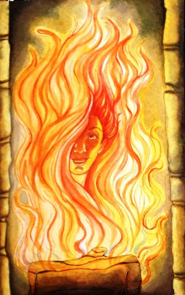 богиня весны и огня