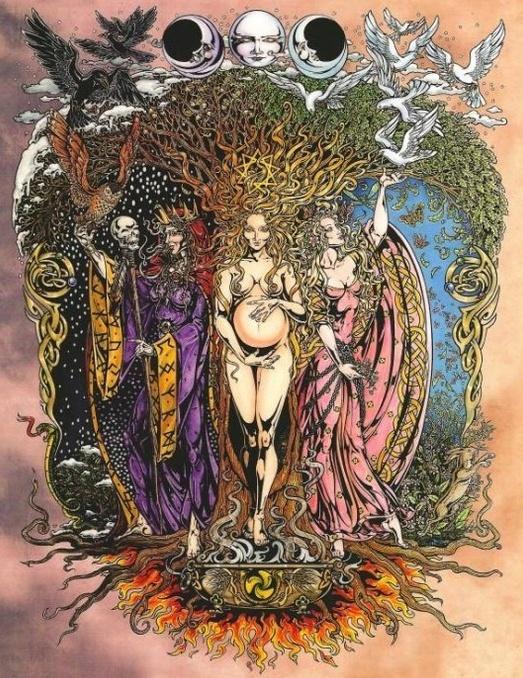 триединая богиня Геката