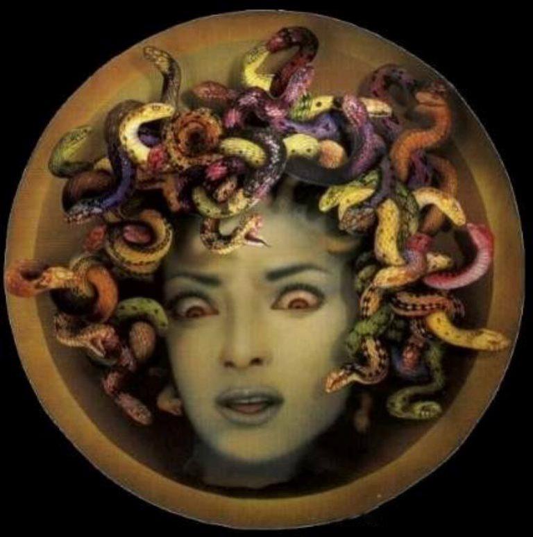 символ медузы горгоны