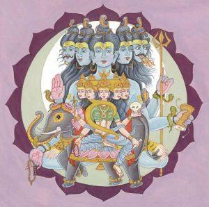 боги пятой чакры