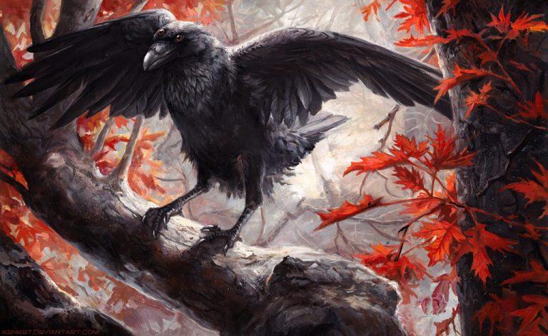 тотем ворона