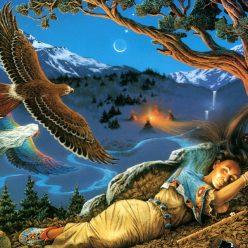 медитация тотем орла