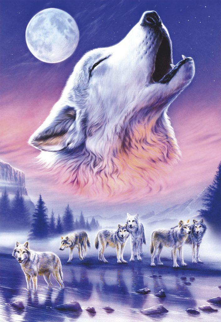 волк тотем медитация