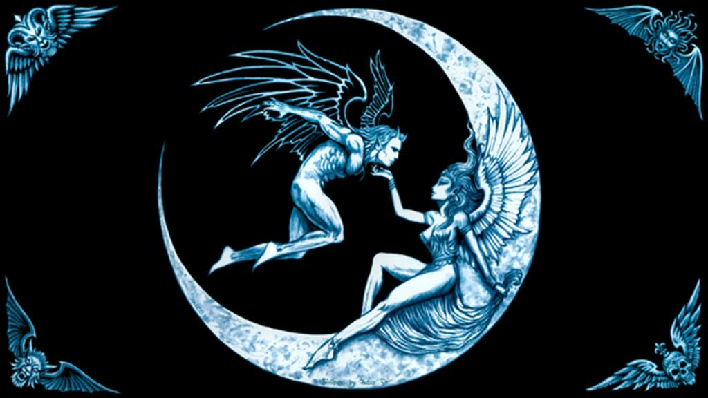 работа с ангелом лунного дня