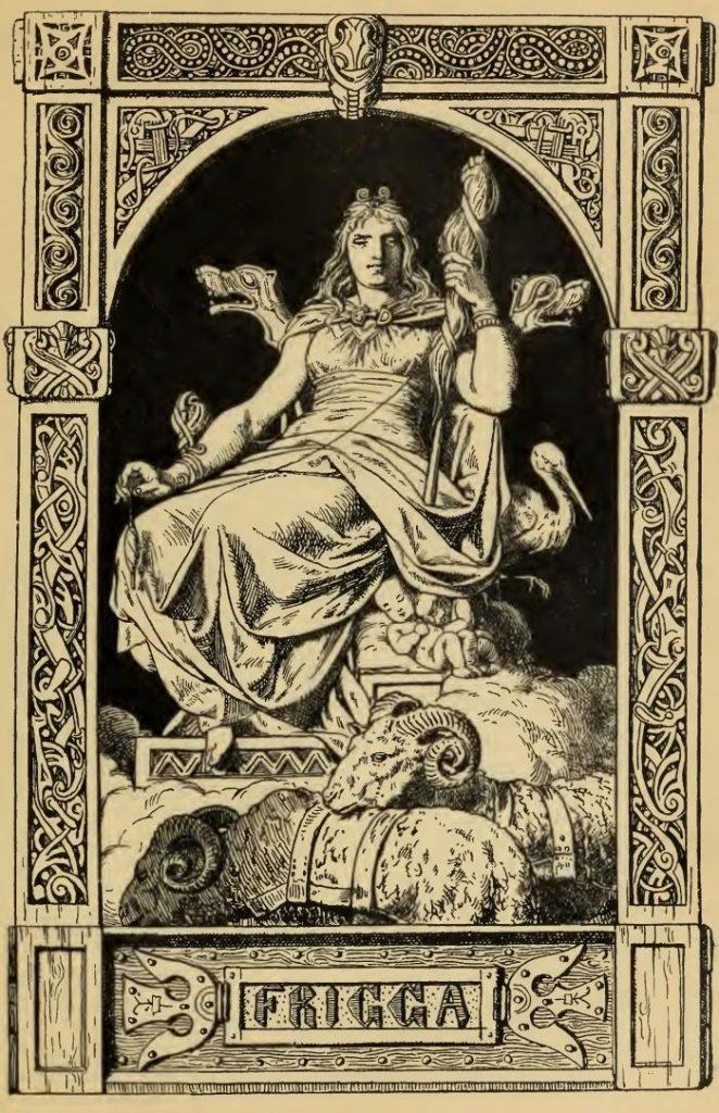 богиня фригг ритуалы