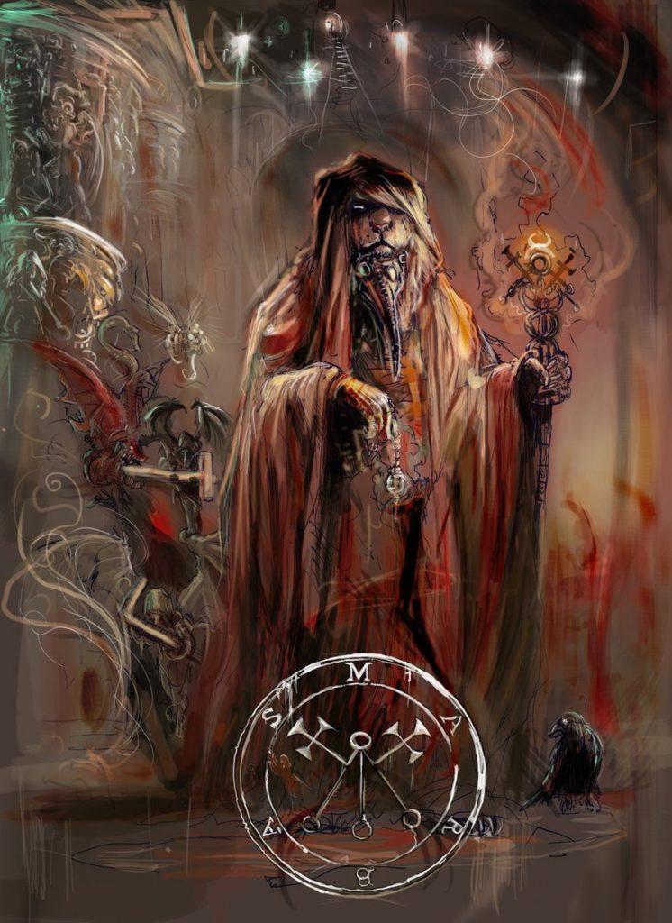 демон исцеления Марбас