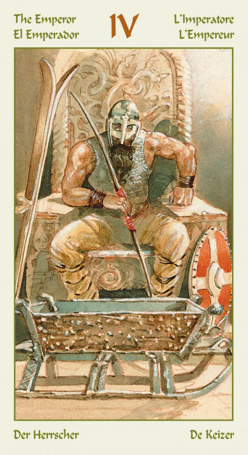 таро викингов император