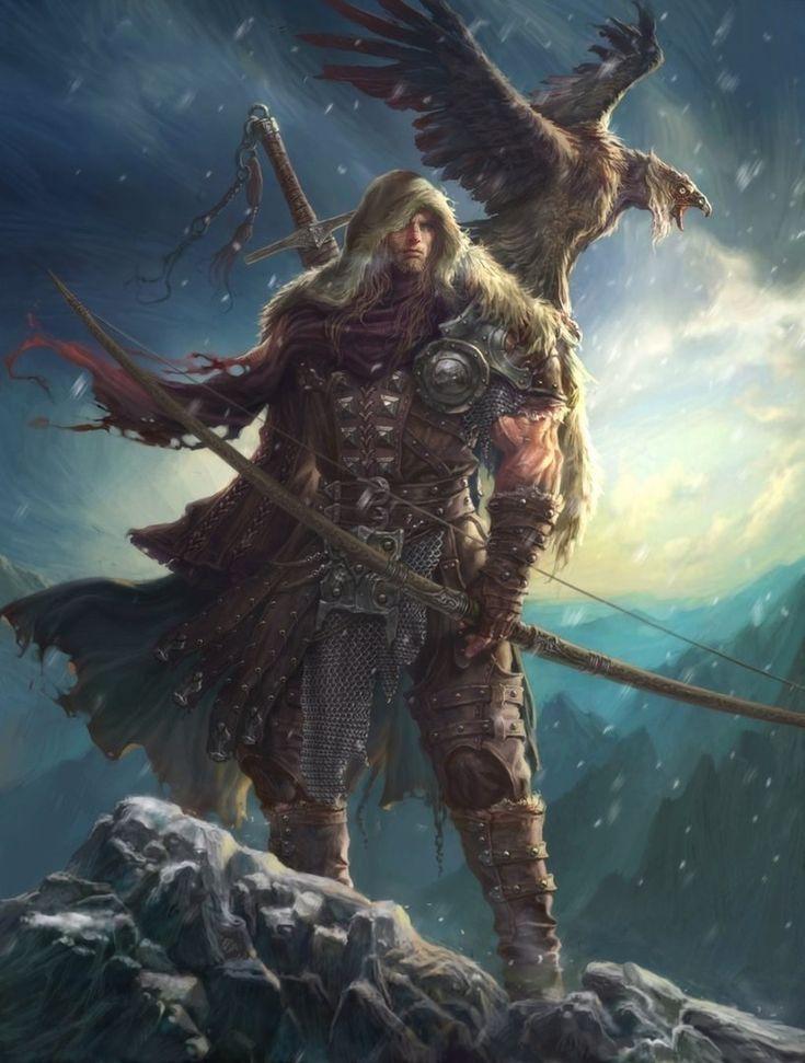 таро викингов карта император