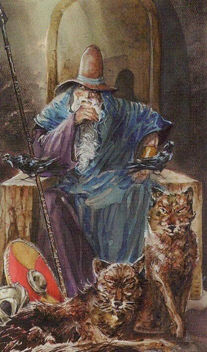 таро викингов жрец