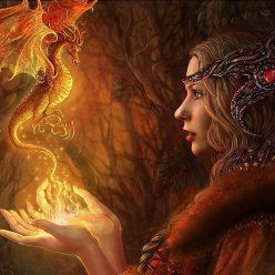 ведьма огня
