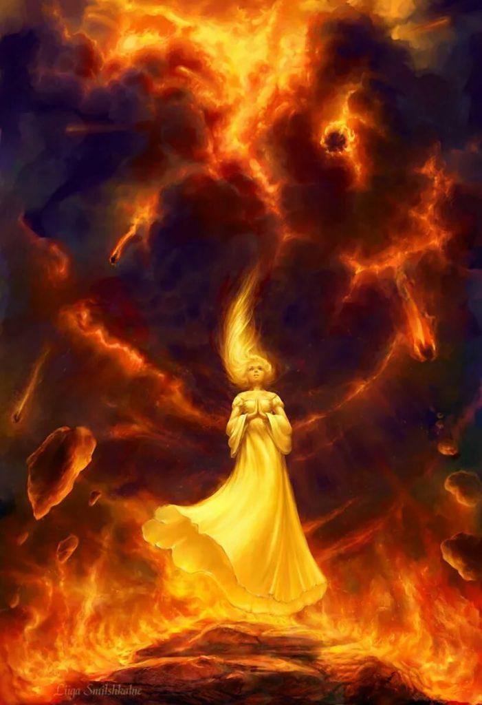 ведьмы огня