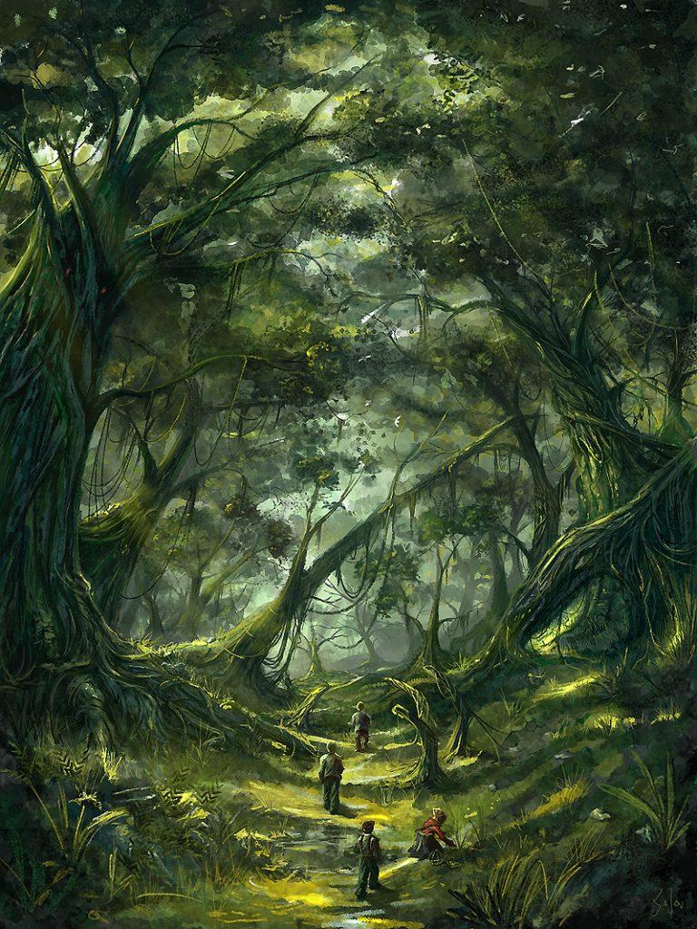 магия леса и деревьев
