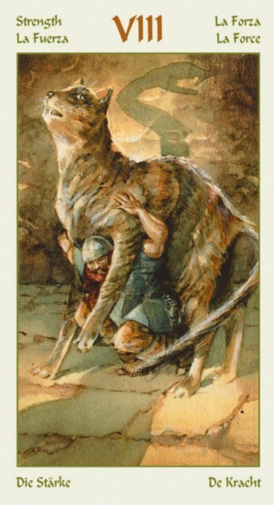 таро викингов значение аркана сила