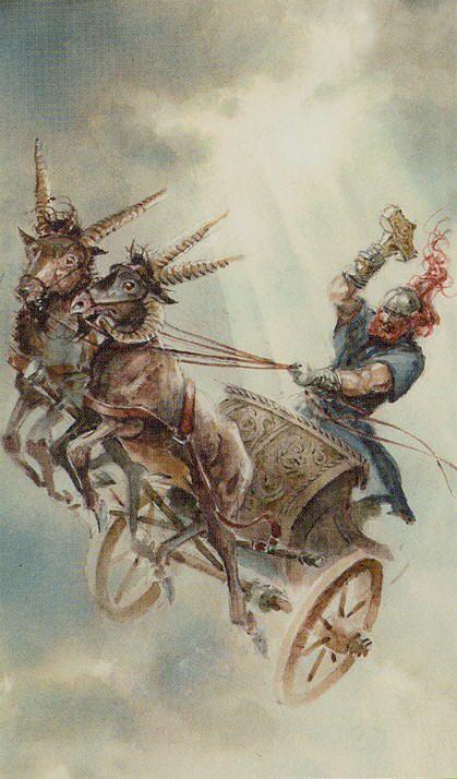 таро викингов колесница