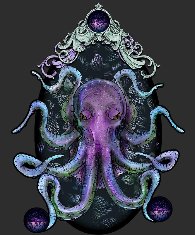 осьминог тотем