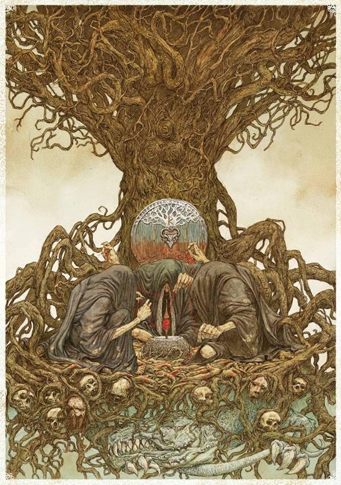 богини норны в таро