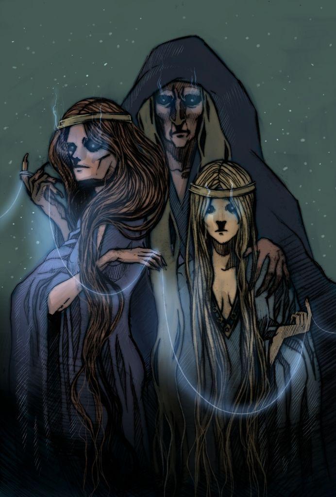 богини норны проживание