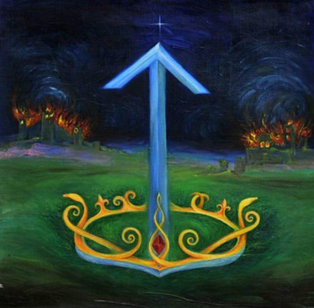 символ руна тейваз