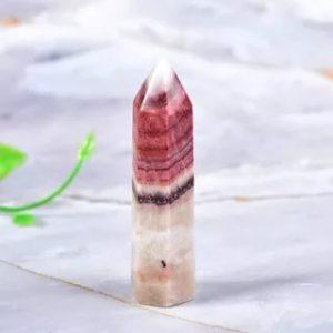 камень кристалл родонит