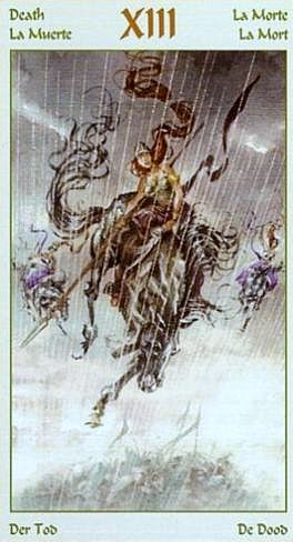 значение аркана смерть таро викингов