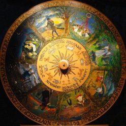 Ритуал на Мабон - повернуть колесо судьбы.