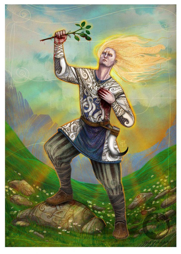 бальдр бог весны таро викингов