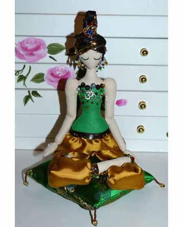 йога куколка будда