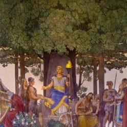 скандинавский пантеон богов
