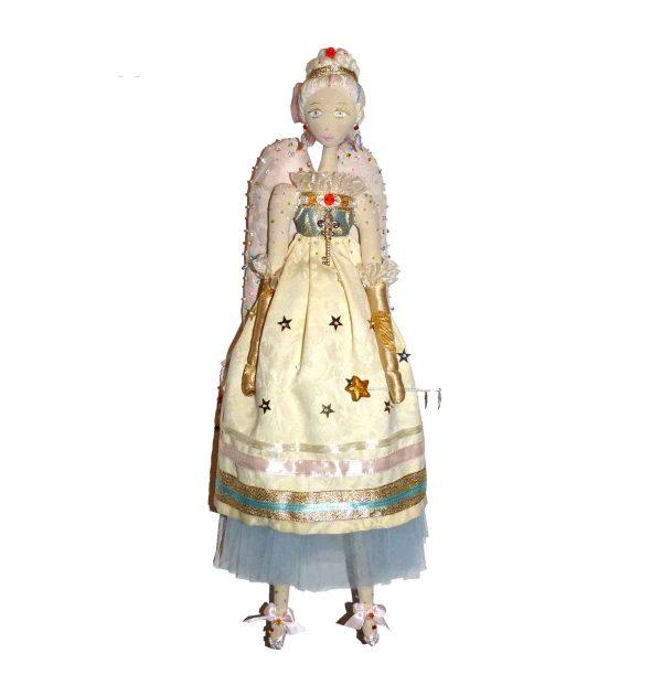 кукла ангел ручная работы