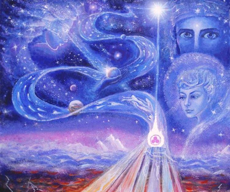 трехэтажный картинки вселенная бог душа дух позволяет