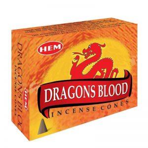 конусы благовония дракон