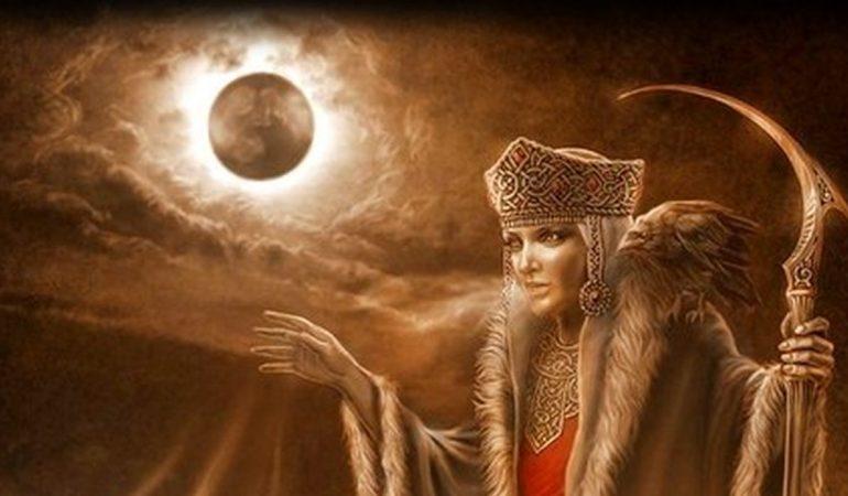 богиня зимы и сметрти мара