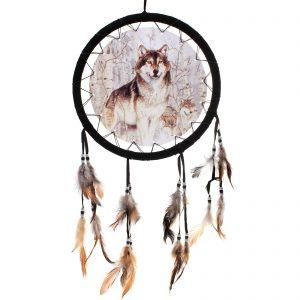 ловец снов с волками