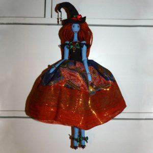 кукла ведьма авторская
