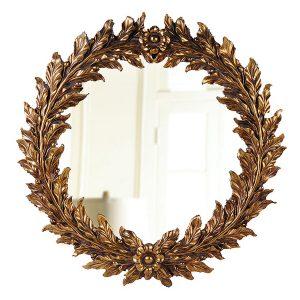 Зеркало круглое венок