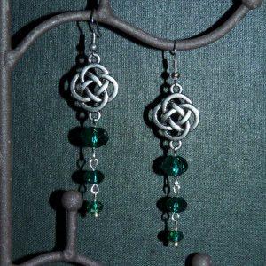 серьги кельтский узел