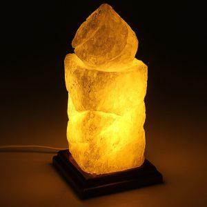 солевая лампа свеча
