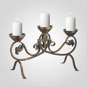 подсвечник лилия на 3 свечи